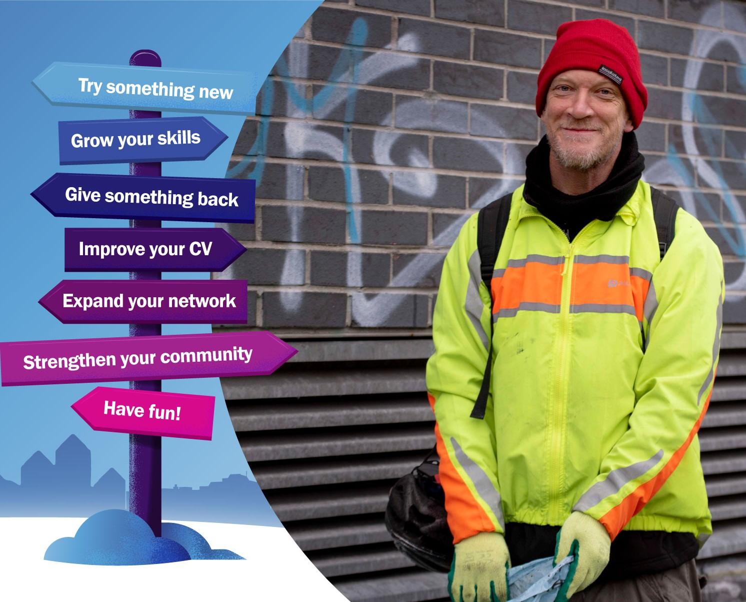 Volunteering while unemployed