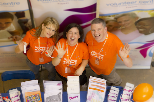 Some of the Fingal Volunteer Centre Team
