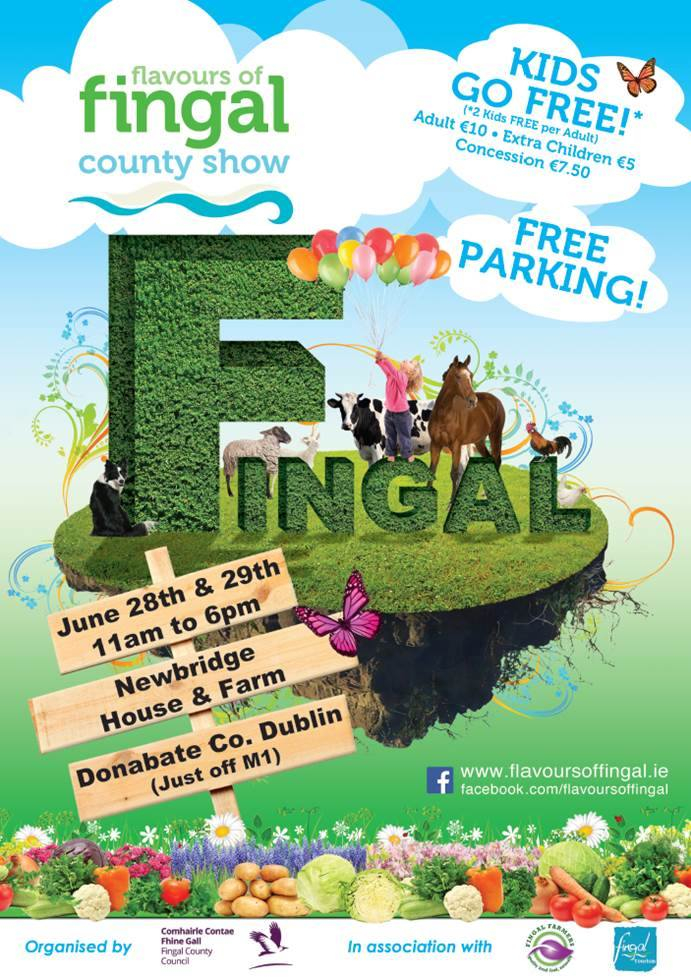 Flavours of Fingal County Show is Back on June 28 / 29