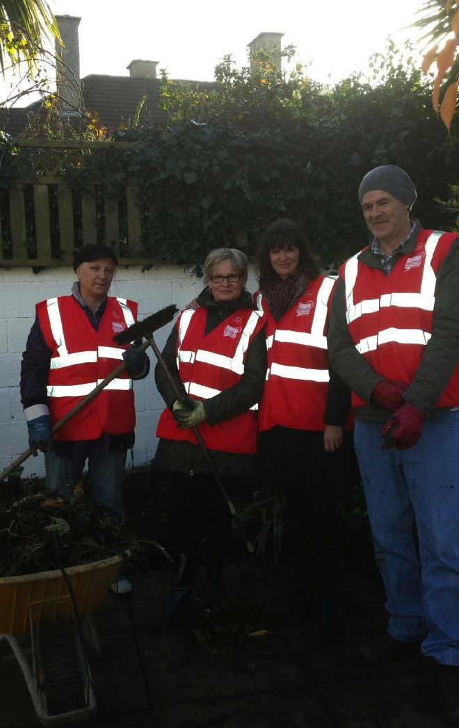 Event Volunteers play their part in makeover of CASA Break House as part of RTÉ One's At Your Service