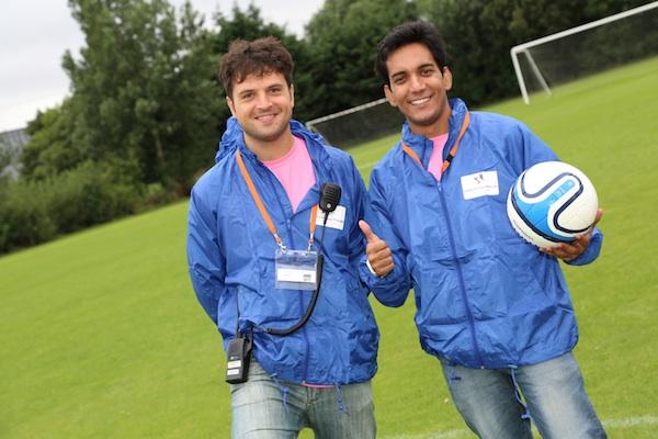 Event Volunteers Programme 2014