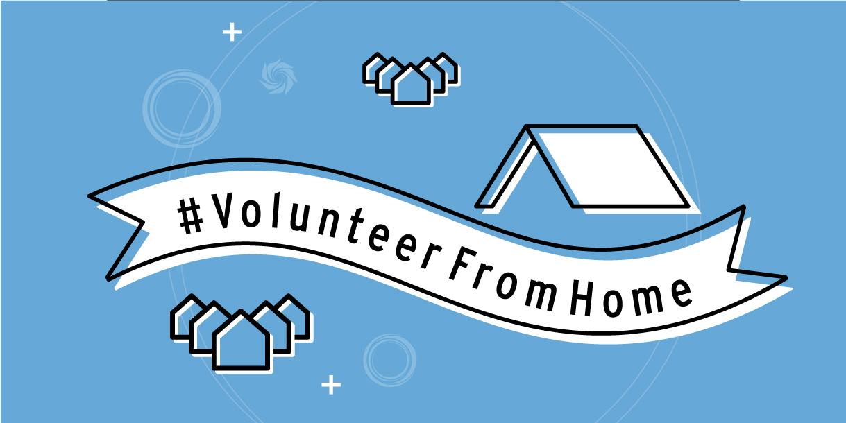 #volunteerfromhome