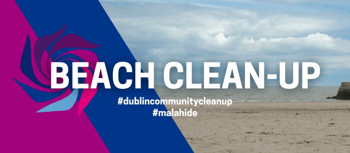 Beach Clean-up banner