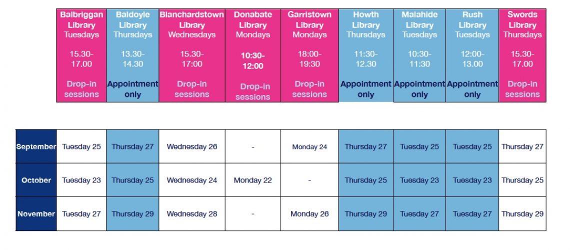 Outreach Programme 2018 September. October. November