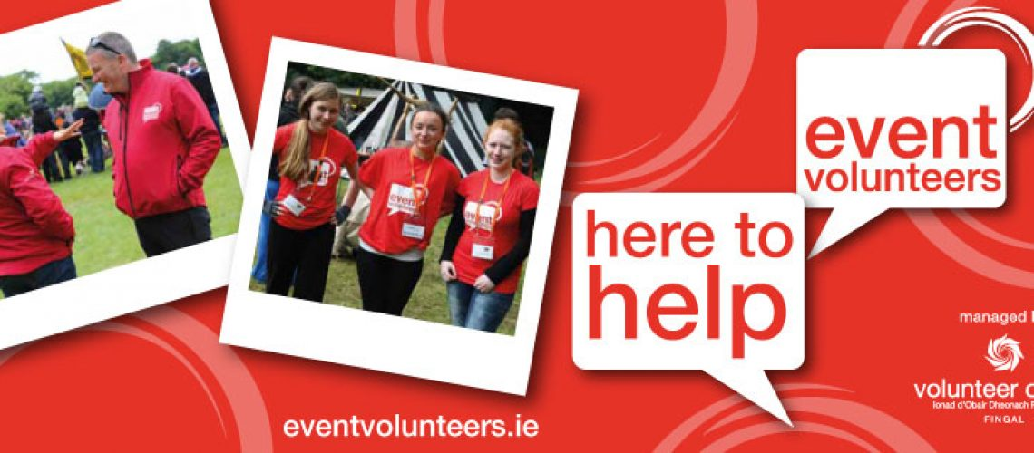 Event Volunteers - Click here to join our award nominated volunteer programme