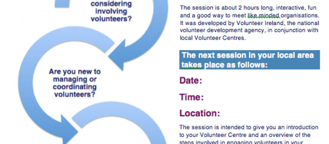 Introduction to Involving Volunteers